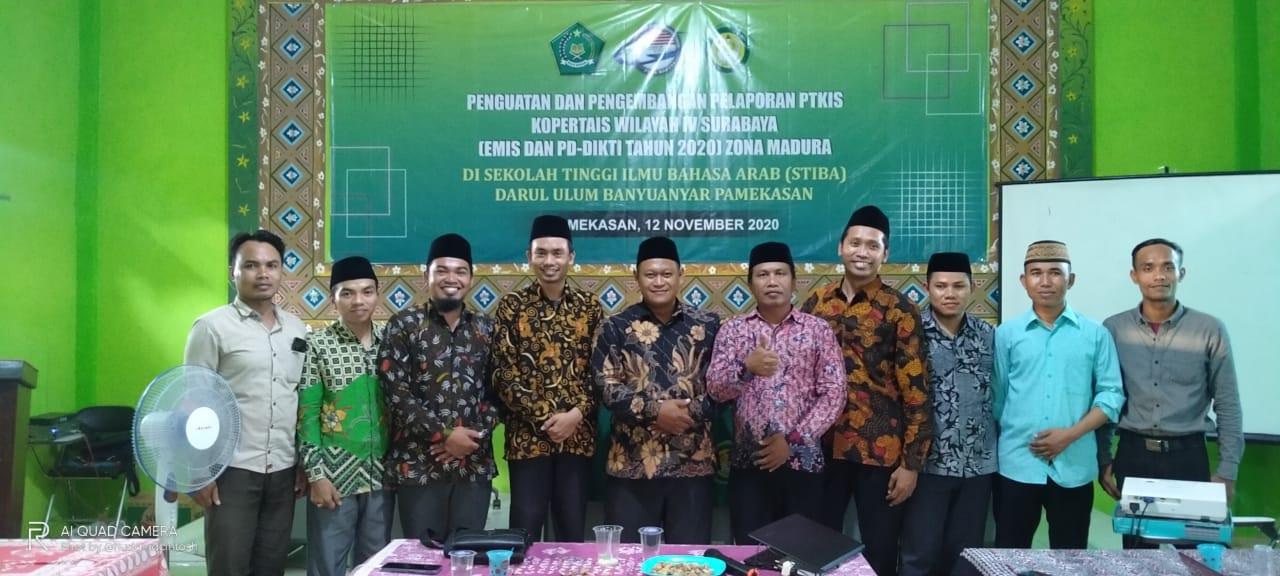 Penguatan dan Pelaporan PTKIS Kopertasi Wilayah IV Surabaya