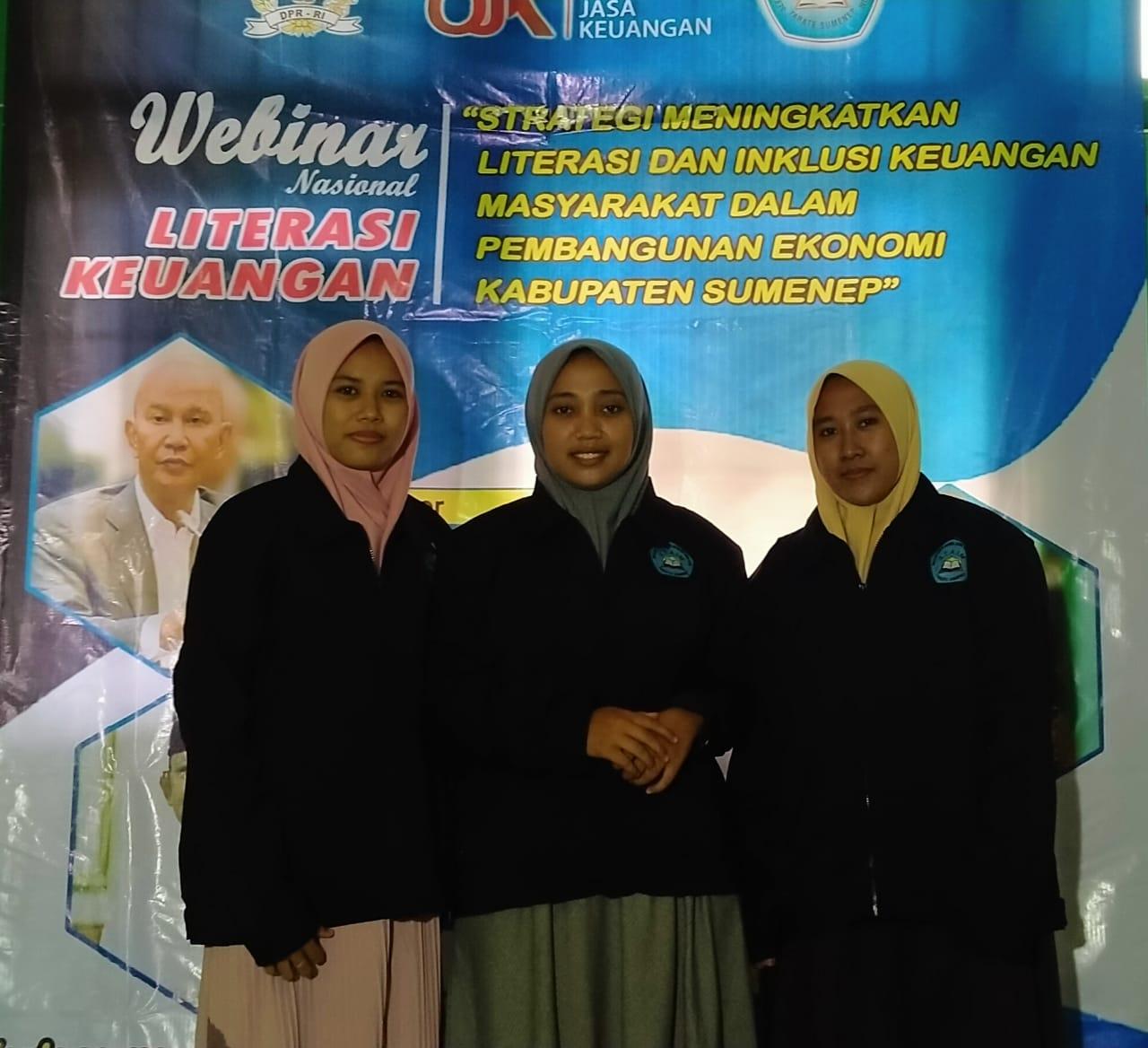 Webinar Nasional Literasi Keuangan Bekerjasama dengan Banggar DPR RI dan OJK Regional IV Jawa Timur